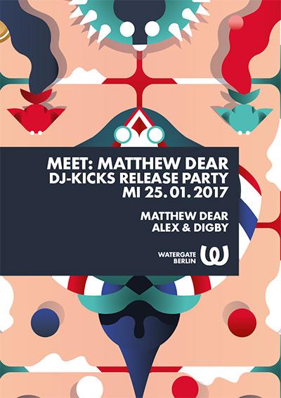 Meet: Matthew Dear DJ-Kicks Release Party