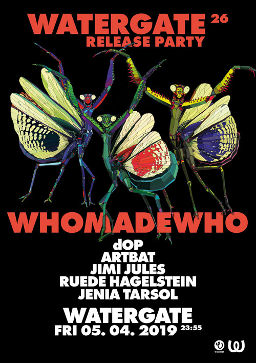 Watergate 26 Release: WhoMadeWho