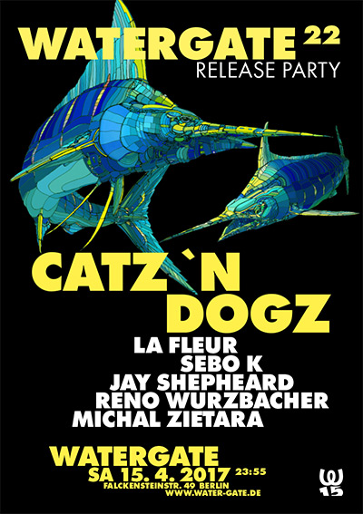 Watergate 22 Release Party