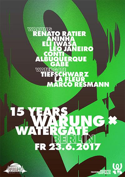 Watergate meets 15 Years Warung