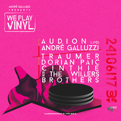 André Galluzzi presents WE PLAY VINYL