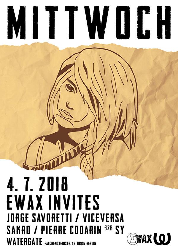 Mittwoch: EWax invites...