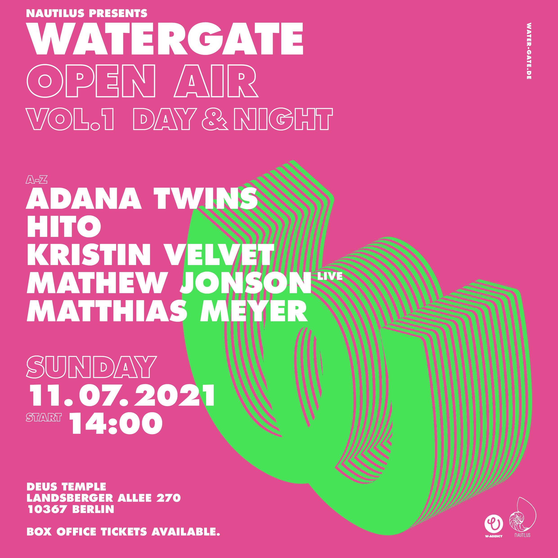 Watergate Open Air Vol. 01