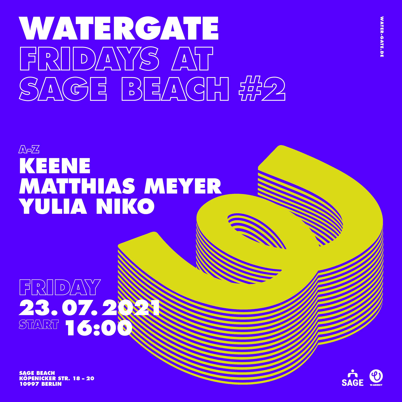 Watergate Fridays at Sage Beach #2