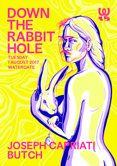 """Butch pres. """"Down The Rabbit Hole"""""""