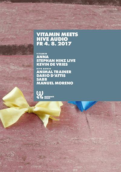 Vitamin meets HIVE Audio