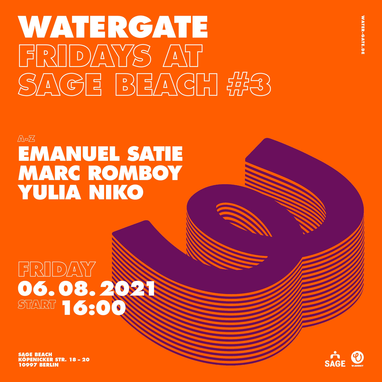 Watergate Fridays at Sage Beach #3