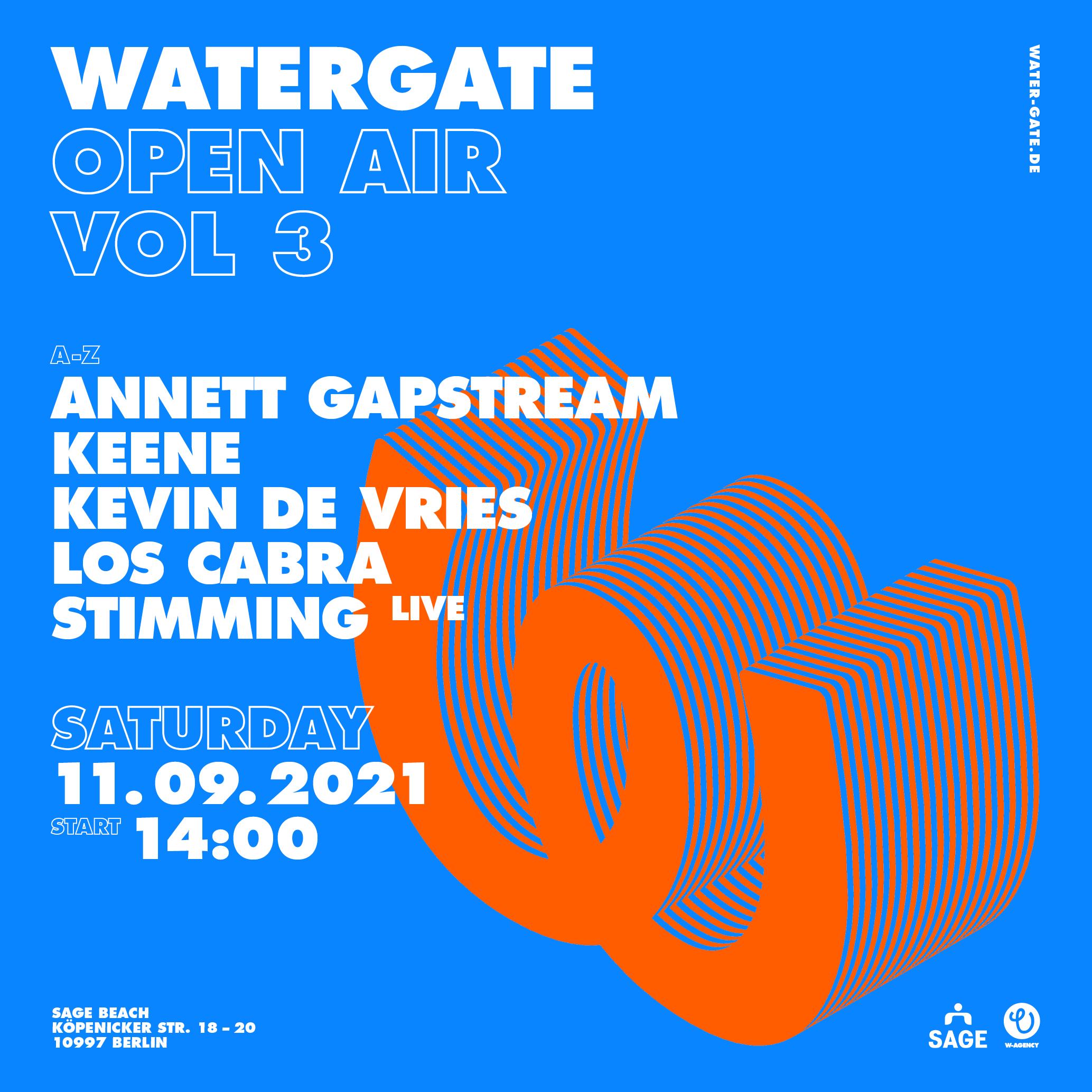 Watergate Open Air  Vol. 03