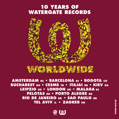 10 Years Of Watergate Records Tour