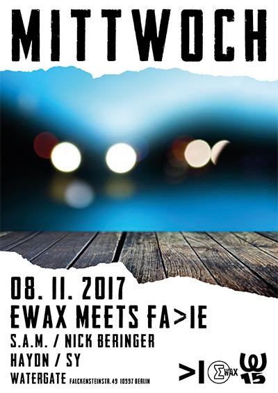 EWax meets FA>IE