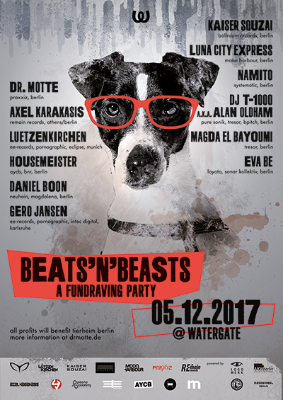 Beasts'n'Beats - A Fundraving Party