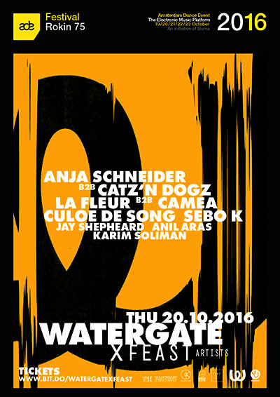 Watergate X Feast at ADE 2016