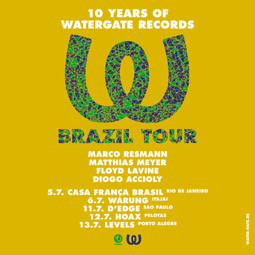 10 YEARS WATERGATE RECORDS BRAZIL TOUR