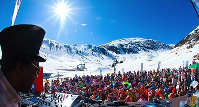 Watergate goes Snowbombing