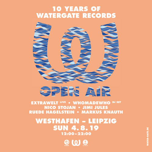 10 Years of Watergate Records Open Air
