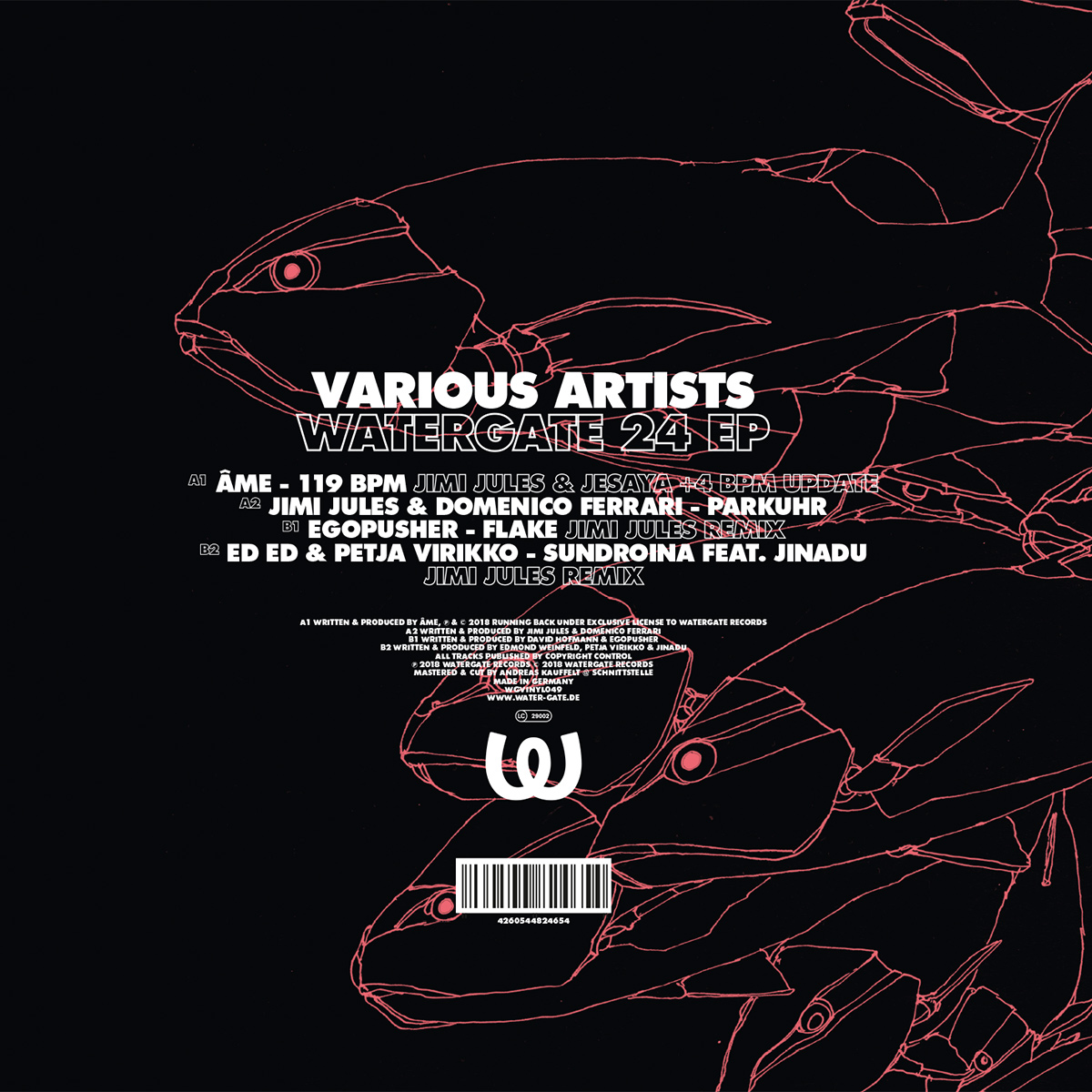 Various Artists Watergate 24 EP
