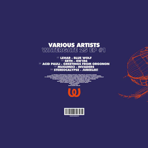 Various Artists Watergate 25 EP #1