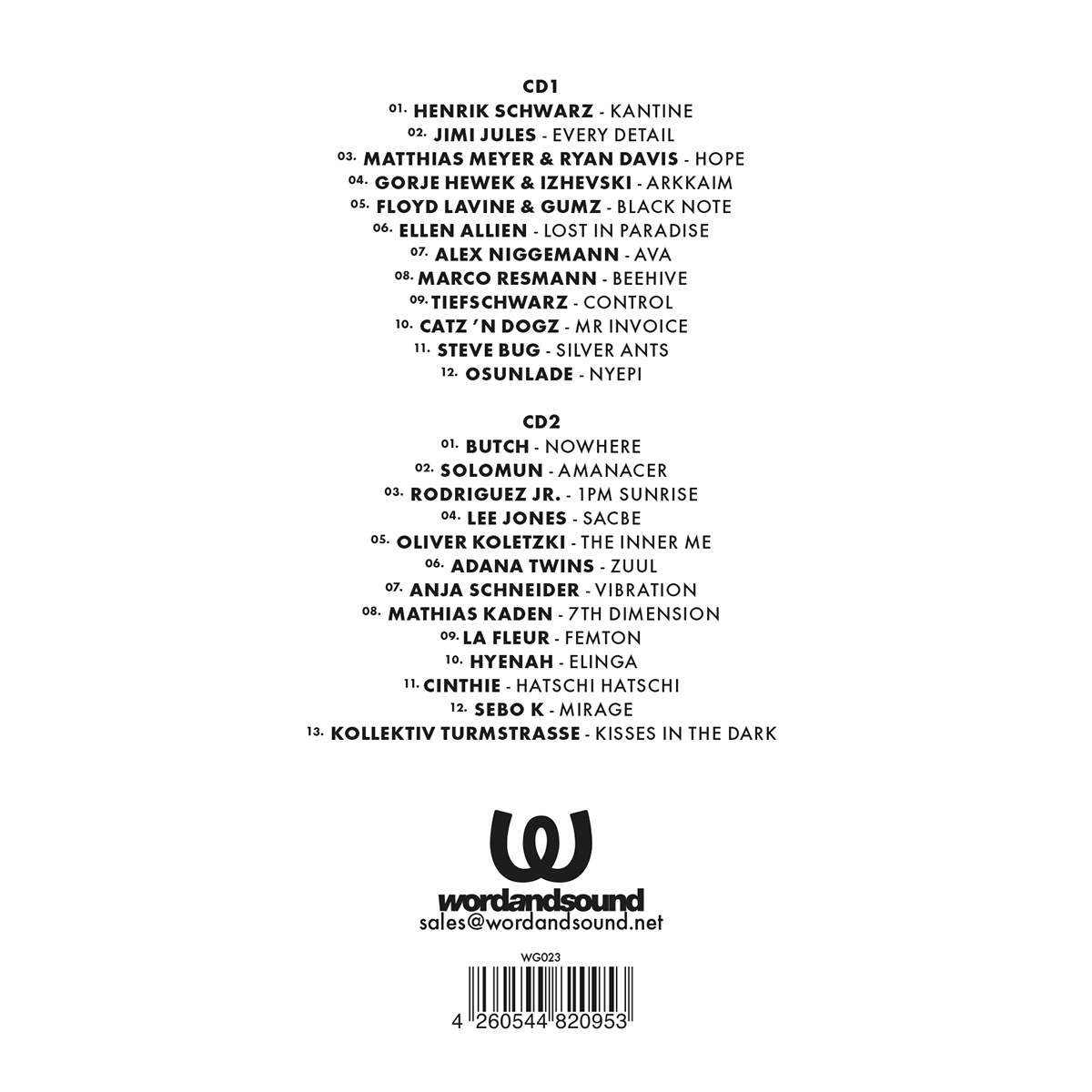 Various Artists WG XV
