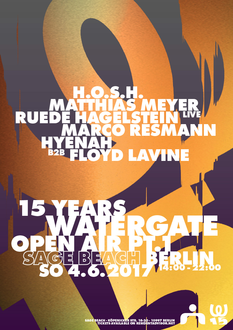 15 Years Watergate Open Air pt. 1