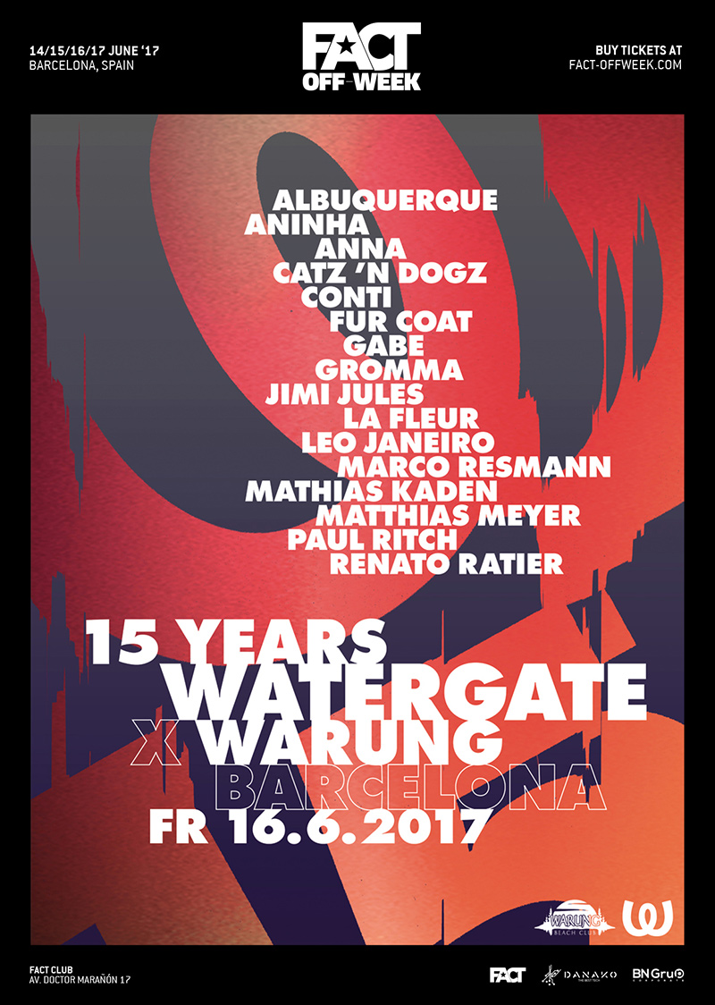 15 Years Watergate x Warung