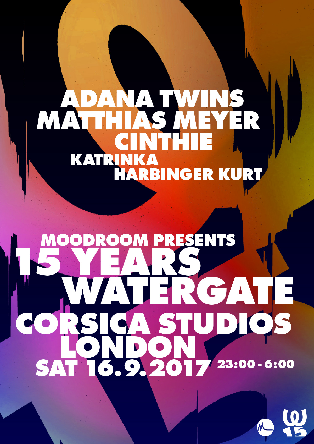 15 Years Watergate at Corsica Studios