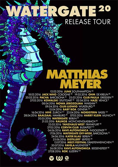 Watergate 20 Release Tour