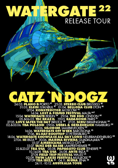 Watergate 22 Release Tour
