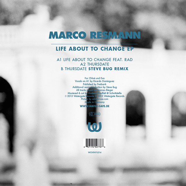 Marco Resmann Life About To Change EP