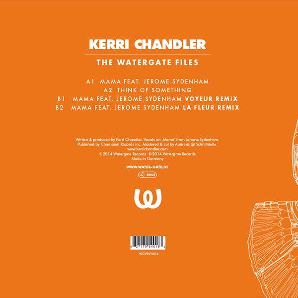 Kerri Chandler The Watergate Files