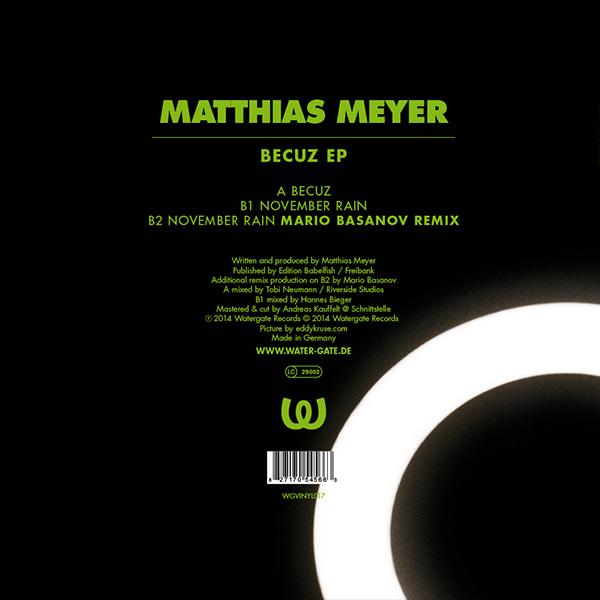 Matthias Meyer Becuz EP