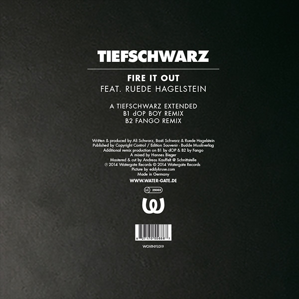 Tiefschwarz Fire It Out