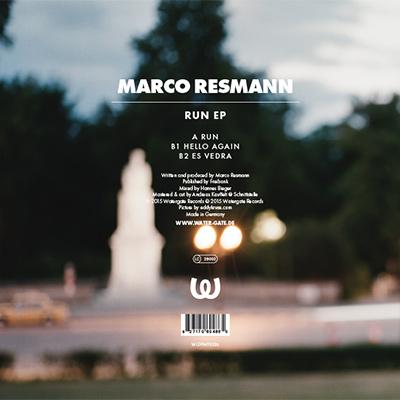Marco Resmann Run EP