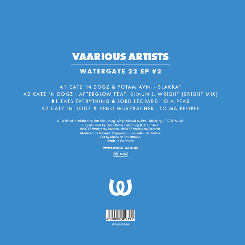 Various Artists Watergate 22 EP #2